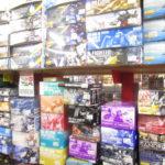ガンダムプラモデルコーナーでは未組み立てから素組みまで各種ガンプラが入荷中!!