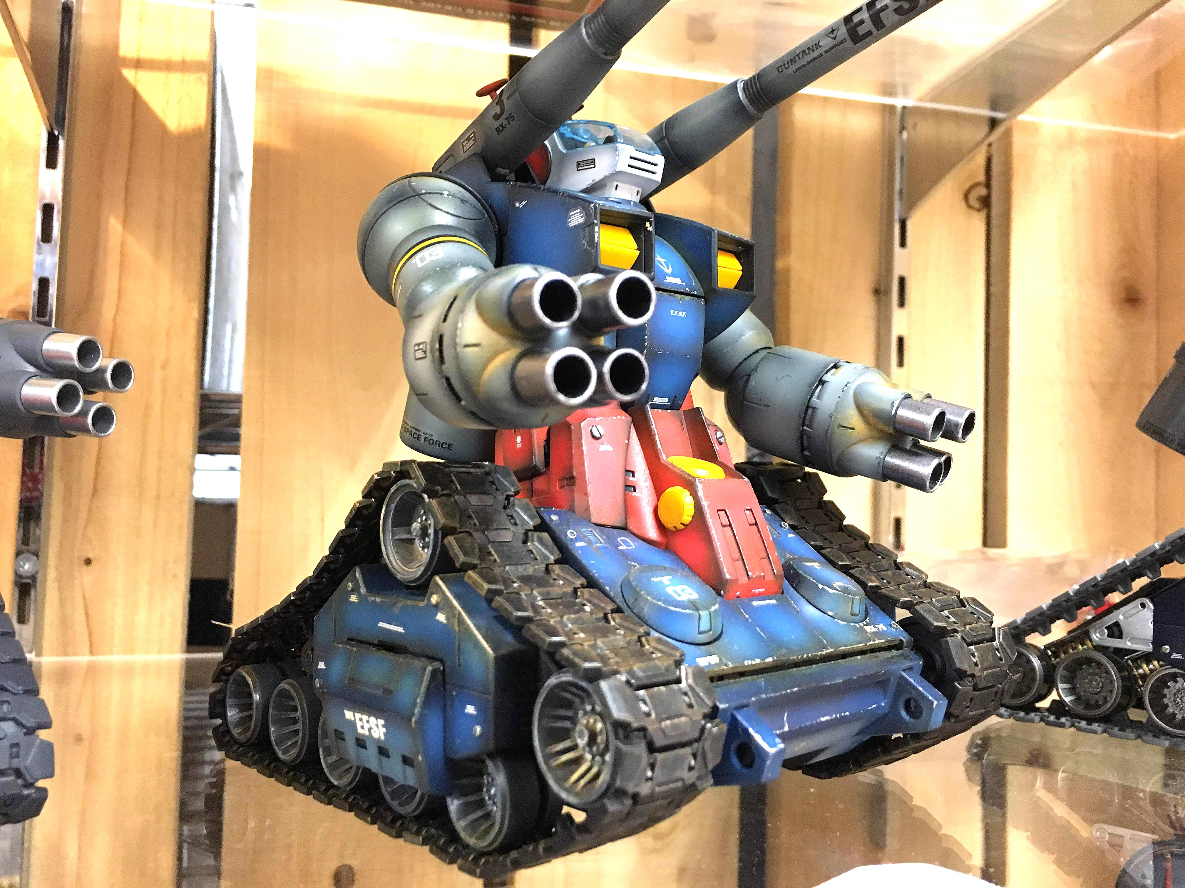 MG ガンタンク塗装済み完成品